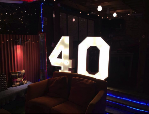 Introducing our amazing light up numbers
